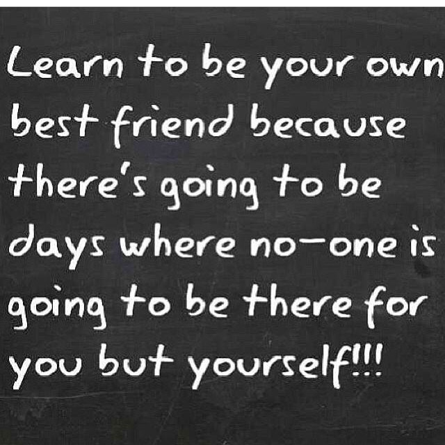 Becoming my own BestFriend!